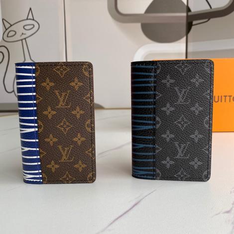 ルイヴィトン LOUIS VUITTON メンズ 短財布 2色 おすすめ 新作レプリカ販売財布