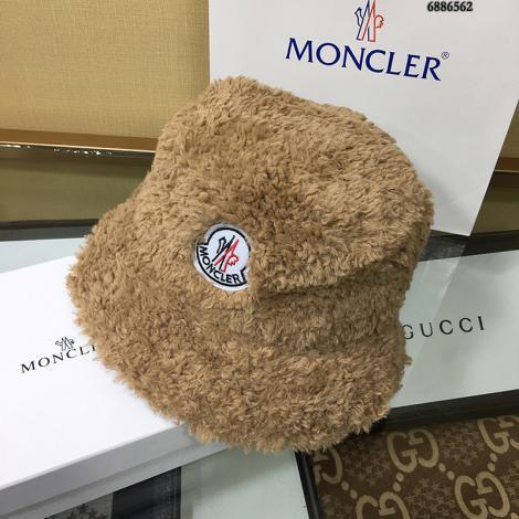 ブランド可能モンクレール MONCLER レディース 暖かく居心地の良い  ラムズウール 漁夫帽 秋冬 新作コピー代引き