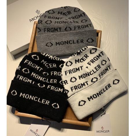 ブランド通販モンクレール MONCLER メンズ/レディース ニット帽 3色 秋冬 カップル 人気 おすすめブランドコピー激安国内発送販売専門店