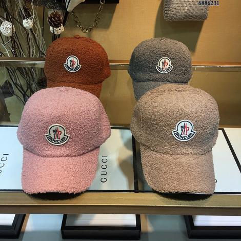 ブランド後払いモンクレール MONCLER メンズ/レディース 4色 カップル 秋冬 ラムズウール キャスケット帽  人気コピー最高品質激安販売