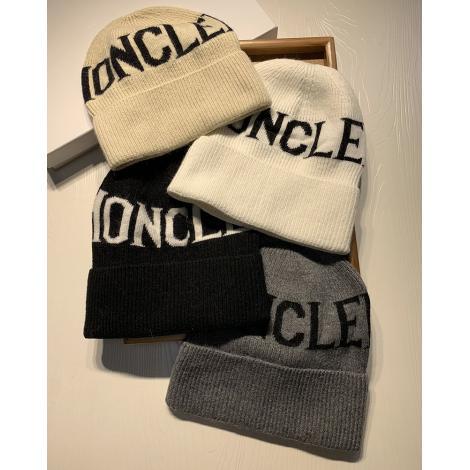モンクレール MONCLER メンズ/レディース 毛糸の帽子 4色 カップル 秋冬 高評価  毛糸コピー最高品質激安販売