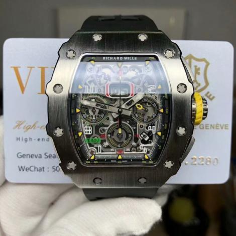 安心送料関税込 リシャールミル Richard Mille 自動巻きブランドコピー時計国内発送専門店