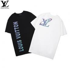 ルイヴィトン LOUIS VUITTON メンズ/レディース 2色 クルーネック Tシャツ 良品スーパーコピー代引き