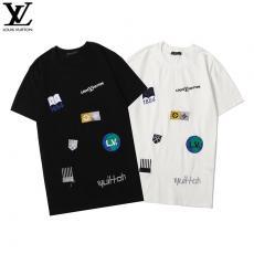 ルイヴィトン LOUIS VUITTON メンズ/レディース 2色 クルーネック Tシャツ 美品スーパーコピーブランド激安安全後払い販売専門店