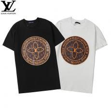 ルイヴィトン LOUIS VUITTON  2色 クルーネック Tシャツ カップル  新入荷スーパーコピーブランド