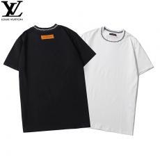 ルイヴィトン LOUIS VUITTON メンズ/レディース 2色 カップル クルーネック Tシャツ 良品スーパーコピーブランド代引き