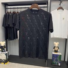 ルイヴィトン LOUIS VUITTON 2色 クルーネック Tシャツ カップル  新入荷スーパーコピー激安国内発送販売専門店