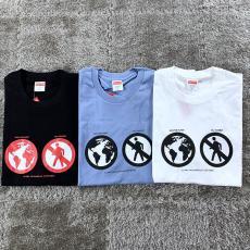 ブランド安全シュプリーム Supreme メンズ/レディース 3色 クルーネック Tシャツ 新入荷 カップル最高品質コピー代引き対応