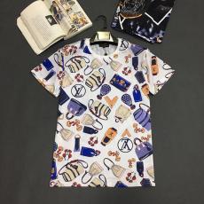 ルイヴィトン LOUIS VUITTON クルーネック Tシャツ 送料無料コピー 販売