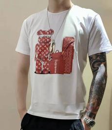 ブランド通販シュプリーム Supreme メンズ/レディース 2色 クルーネック Tシャツ カップル 高評価ブランドコピー代引き