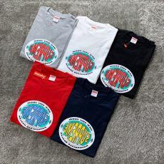 シュプリーム Supreme メンズ/レディース 5色 クルーネック Tシャツ カップル 綿 高評価スーパーコピー代引き国内発送