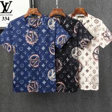 ルイヴィトン LOUIS VUITTON クルーネック Tシャツ 3色  送料無料スーパーコピーブランド代引き