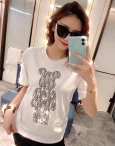 ディオール Dior メンズ/レディース 2色 クルーネック Tシャツ 綿 新作コピー代引き国内発送