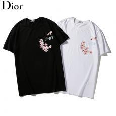 ディオール Dior  2色 クルーネック Tシャツ 綿 新作最高品質コピー