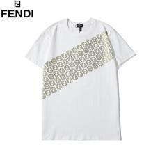 フェンディ FENDI メンズ/レディース 2色 クルーネック Tシャツ 綿 カップル 2020年新作コピー代引き安全口コミ後払い