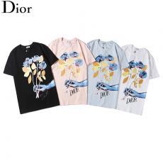 ディオール Dior メンズ/レディース 4色 クルーネック Tシャツ 綿 新入荷偽物代引き対応