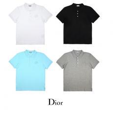 ディオール Dior メンズ/レディース 折り襟 ポロシャツ 4色 Tシャツ カップル  良品スーパーコピーブランド
