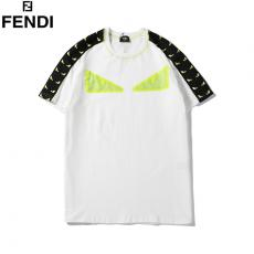 フェンディ FENDI メンズ/レディース 2色 クルーネック Tシャツ 綿 おすすめブランド通販口コミ