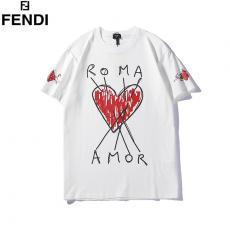 フェンディ FENDI メンズ/レディース 2色 クルーネック Tシャツ 綿 送料無料コピー口コミ