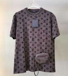 ルイヴィトン LOUIS VUITTON メンズ/レディース 2色 クルーネック Tシャツ カップル 新作スーパーコピー激安販売専門店