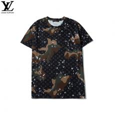 ルイヴィトン LOUIS VUITTON クルーネック Tシャツ 新作スーパーコピー激安販売