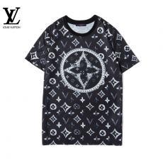 ブランド後払いルイヴィトン LOUIS VUITTON メンズ/レディース クルーネック Tシャツ 綿  2020年新作コピーブランド激安販売専門店