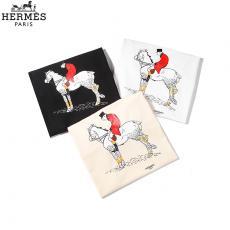 エルメス  HERMES メンズ/レディース クルーネック 3色 Tシャツ 綿 カップル 2020年春夏新作コピーブランド代引き