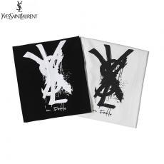 イヴ・サンローラン YSL メンズ/レディース 2色 クルーネック Tシャツ 綿 2020年新作ブランドコピー激安販売専門店