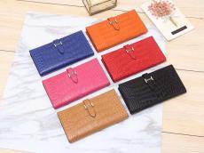 エルメス  HERMES メンズ/レディース クロコ型押し 定番人気  6色最高品質コピー財布代引き対応