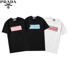 プラダ PRADA 3色 クルーネック Tシャツ 綿 2020年春夏新作レプリカ 代引き