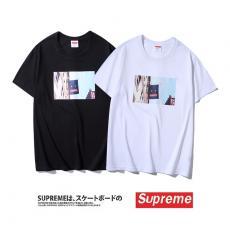 シュプリーム Supreme メンズ/レディース カップル Tシャツ 綿 クルーネック 2色 美品スーパーコピー安全後払い専門店