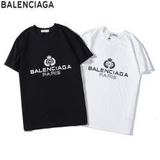 ブランド後払いバレンシアガ BALENCIAGA メンズ/レディース クルーネック Tシャツ 綿 2色 カップル 新品同様最高品質コピー代引き対応