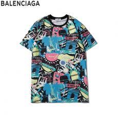バレンシアガ BALENCIAGA クルーネック Tシャツ 綿 カップル 2020年新作スーパーコピー国内発送専門店