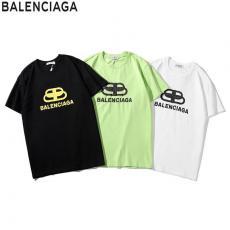 ブランド通販バレンシアガ BALENCIAGA メンズ/レディース カップル 3色 クルーネック Tシャツ 綿 おすすめスーパーコピー安全後払い専門店