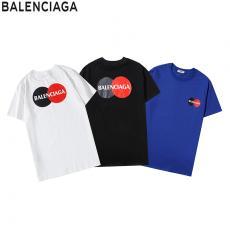 バレンシアガ BALENCIAGA メンズ/レディース 3色 Tシャツ 綿 クルーネック 2020年春夏新作偽物代引き対応