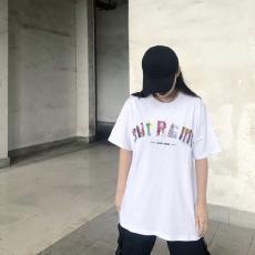 ブランド通販シュプリーム Supreme メンズ/レディース 2色 クルーネック Tシャツ 綿 カップル 新入荷コピー口コミ