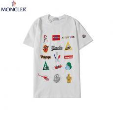 モンクレール MONCLER メンズ/レディース 2色 クルーネック Tシャツ 綿 カップル 高評価スーパーコピー国内発送専門店
