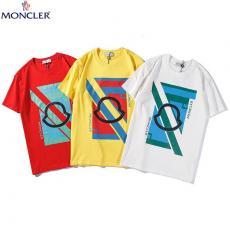 モンクレール MONCLER カップル クルーネック 綿 Tシャツ 3色 送料無料コピーブランド代引き