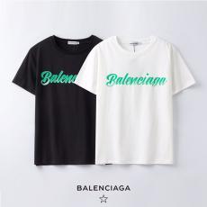 バレンシアガ BALENCIAGA メンズ/レディース 2色 クルーネック Tシャツ 綿 カップル 2020年新作スーパーコピー専門店