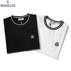 モンクレール MONCLER メンズ/レディース カップル 2色 クルーネック Tシャツ 綿 おすすめスーパーコピー代引き国内発送