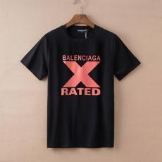 バレンシアガ BALENCIAGA メンズ/レディース 2色 クルーネック Tシャツ 綿  2020年新作最高品質コピー代引き対応