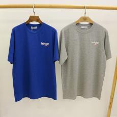バレンシアガ BALENCIAGA メンズ/レディース クルーネック Tシャツ 綿 カップル 2020年春夏新作激安 代引き口コミ