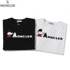 ブランド可能モンクレール MONCLER メンズ/レディース 2色 クルーネック 綿 Tシャツ カップル 新作 人気ブランドコピー専門店