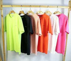 バレンシアガ BALENCIAGA メンズ/レディース クルーネック Tシャツ 綿 カップル おすすめスーパーコピー激安販売