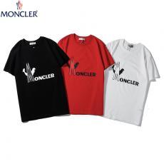 モンクレール MONCLER メンズ/レディース 3色 クルーネック Tシャツ 綿 カップル おすすめスーパーコピーブランド