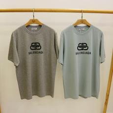 バレンシアガ BALENCIAGA メンズ/レディース  クルーネック Tシャツ 綿 カップル  新品同様  3色レプリカ激安代引き対応