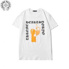 クロムハーツ Chrome Hearts メンズ/レディース カップル 2色 クルーネック Tシャツ 綿 2020年春夏新作コピー代引き口コミ