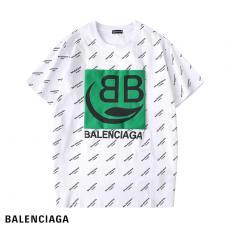バレンシアガ BALENCIAGA メンズ/レディース 2色 クルーネック Tシャツ 綿 2020年春夏新作コピーブランド激安販売専門店