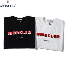 ブランド販売モンクレール MONCLER メンズ/レディース 2色 クルーネック Tシャツ 綿 カップル 2020年新作コピーブランド激安販売専門店