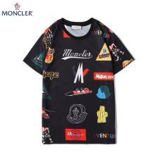 モンクレール MONCLER メンズ/レディース クルーネック Tシャツ 綿 2色 カップル 2020年春夏新作スーパーコピー通販